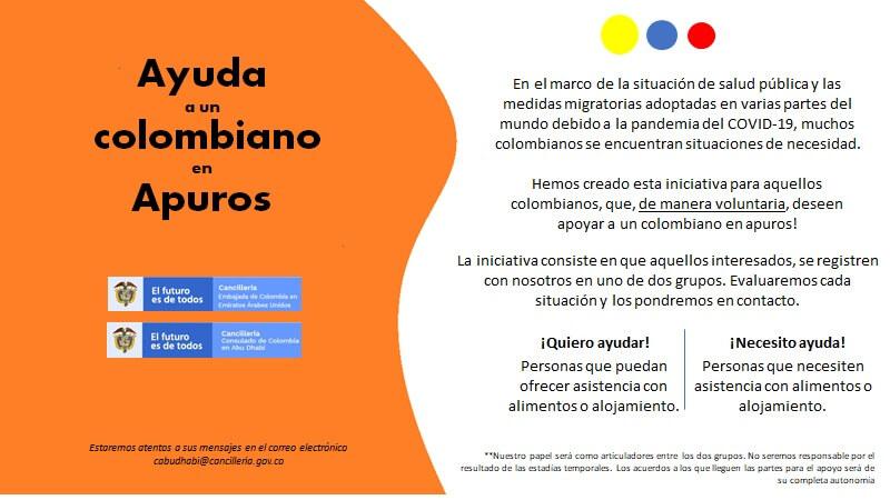 ayuda colombia coronavirus