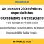 URGENTE: se buscan 100 médicos colombianos y venezolanos para Arabia Saudita