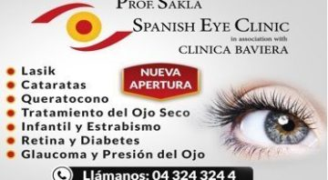 Spanish Eye Clinic ad oferta