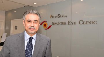 El Dr Hani Sakla trabaja en la Spanish Eye Clinic de Dubái
