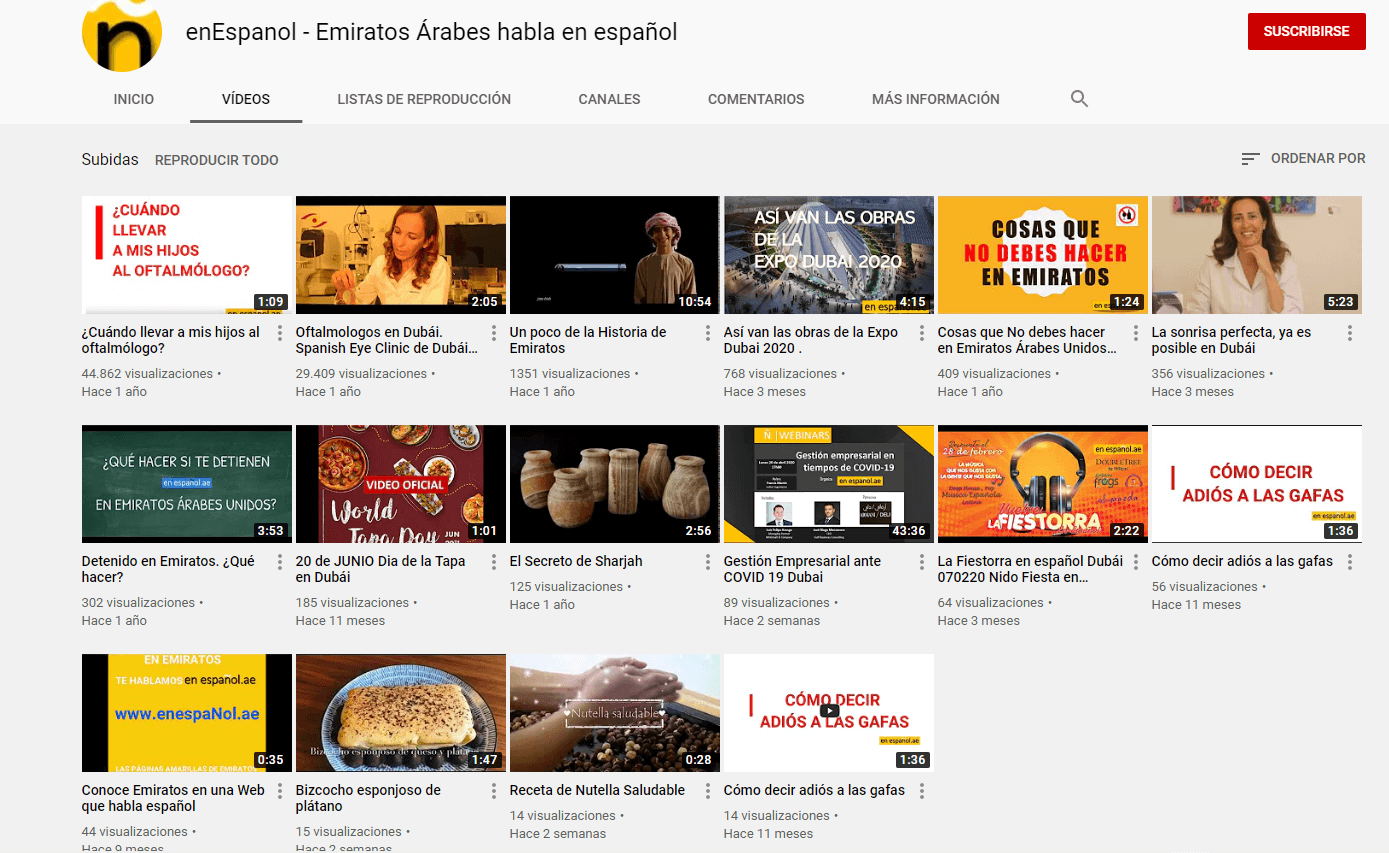 enEspanol YouTube