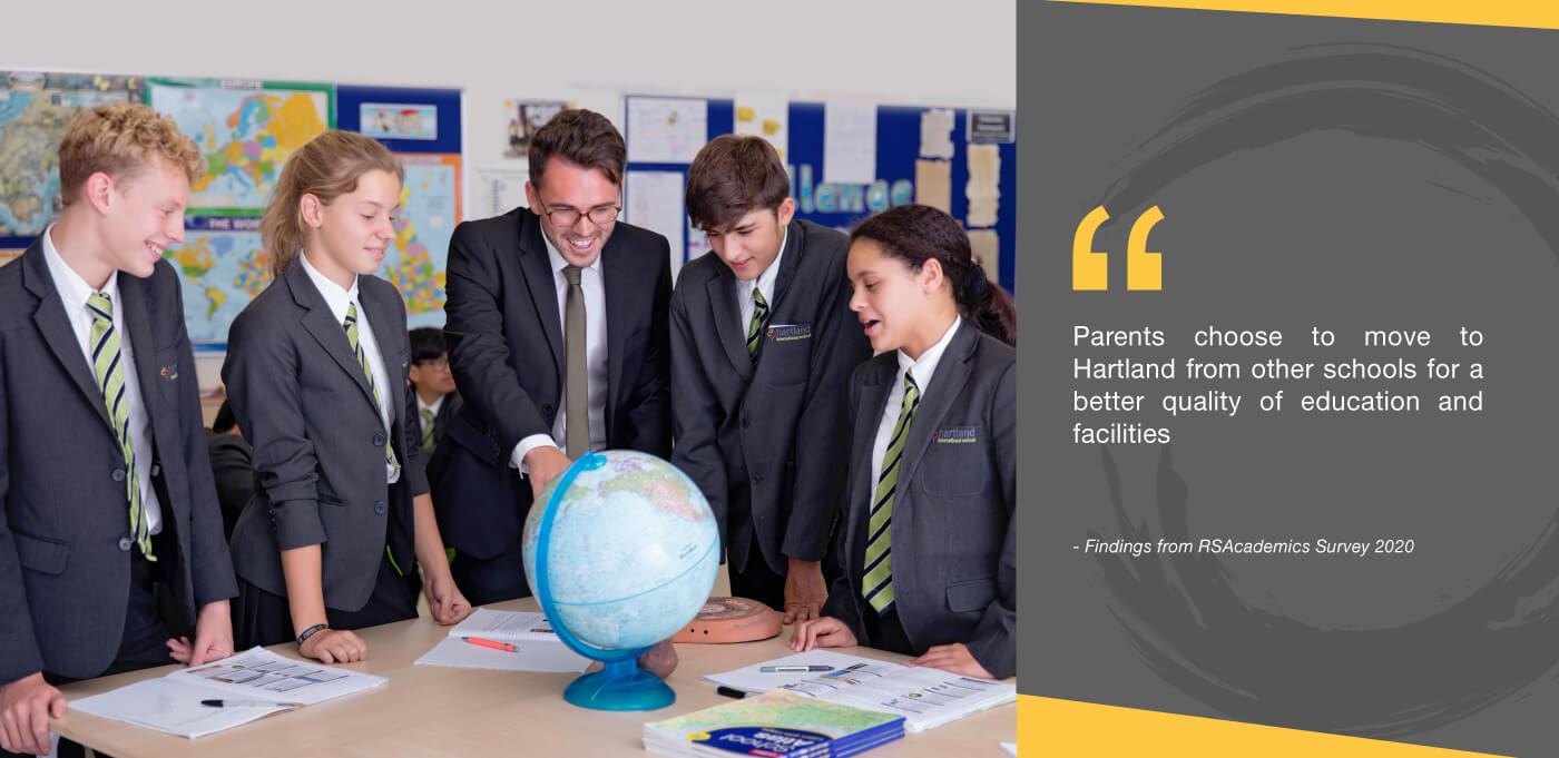 alumnos Colegio Hartland International School Dubai enespañol español