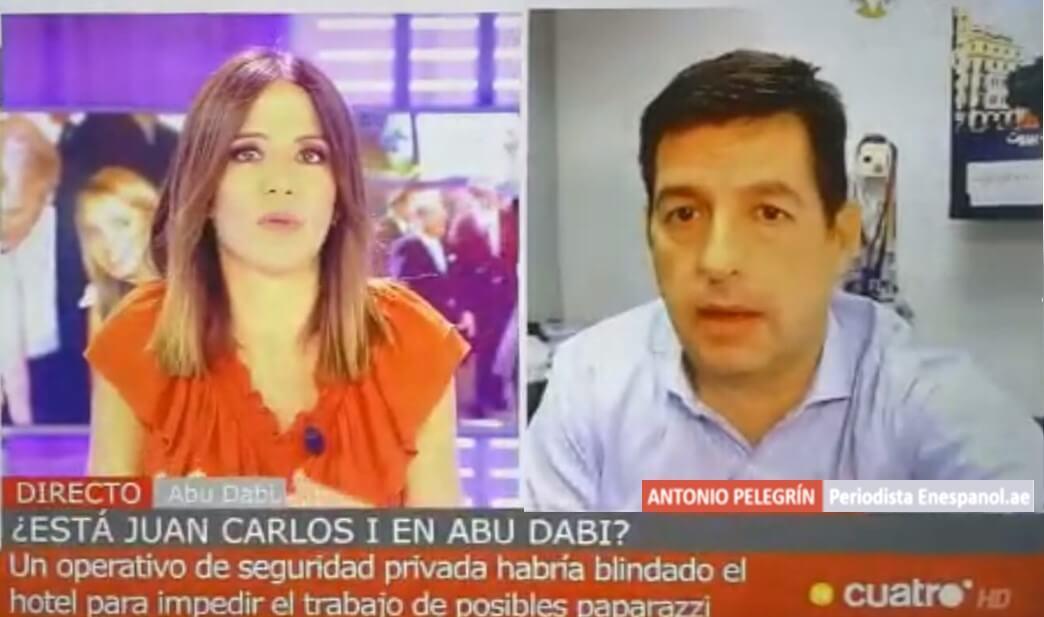 periodista dubai abu dhabi emiratos español