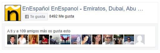 facebook españoles en dubai emiratos