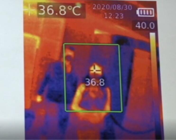 control temperatura en restaurante español emiratos
