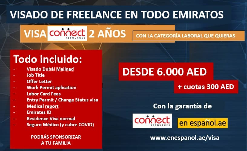 visa freelance visado dubai emiratos